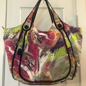 Authentic Kipling Multicolor Tote